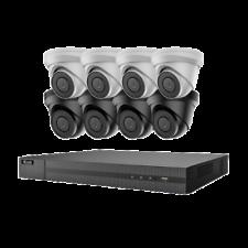Sistema CCTV 4K Hikvision hilook IP POE + 8MP 8CH 8 Canales NVR Kit de Cámara Domo