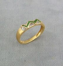 Gold Ring, Damenring 585 / 14 C Gelbgold ✹KEIN Altgold / Bruchgold ✹Gr. ca.57