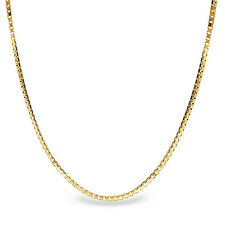 Box Chain 14k Gold Necklace - 18 in. - SKU #63550