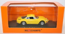 Maxichamps 1/43 Scale Diecast 940 113601 - 1971 Renault Alpine A110 - Yellow