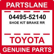 04495-52140 Toyota OEM Genuine SHOE KIT BRAKE RR