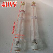 40W CO2 Laser tubo per incisore laser 720CM macchine Incisione taglio Cutting