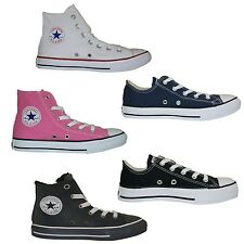 Converse Kids Chuck Taylor all Star Hi Sneakers Trainers Childrens Shoes New