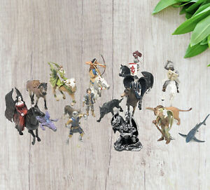 SCHLEICH PAPO MEDIEVAL Fantasy Figures KNIGHTS,  HORSES &  DRAGON  MIXED  LOT/21