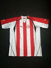 More details for olympiakos 2005-06 official home football shirt size mens xxl vgc