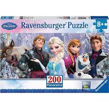 Disney Frozen Friends 200 Piece Panoramic Puzzle