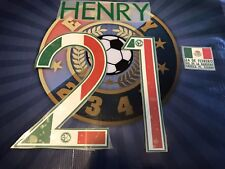 Número Oficial De Henry Edición Especial Día De La Bandera Del Club America