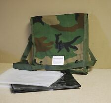 Woodland Camo Map Case - New - GI Issue