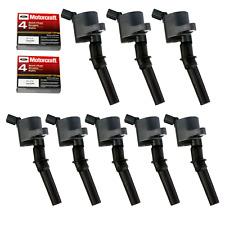 Ignition Coil DG508 & Motorcraft Spark Plug SP479 for Ford 4.6L 5.4L V8 CROWN of