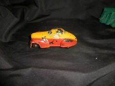 Vintage The Sun Rubber Company Sedan Car Red/Yellow 4""