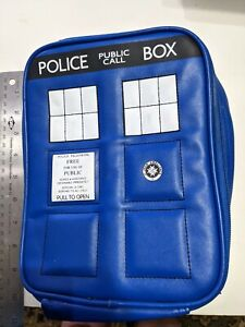 Doctor Who Tardis insulated lunch bag