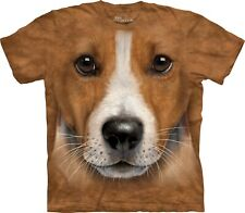 Big Face Jack Russell Terrier T Shirt Adult Unisex Mountain