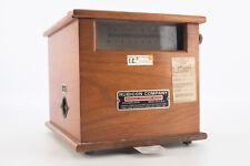 Antique Rubicon Company Philadelphia Galvanometer in Wooden Case V03