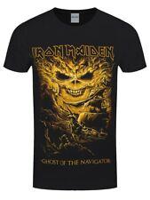 Iron Maiden T-shirt Ghost Of The Navigator Men's Black