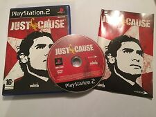 PLAYSTATION 2 PS2 GAME JUST CAUSE ( 1 / I / 1st ) +BOX INSTRUCTIONS COMPLETE PAL
