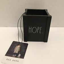 Rae Dunn Pen Holder Black Hope Pencil Cup Holder Office Desk Organizer