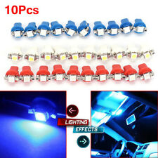 10PC T5 B8.5D 5050 1SMD Car LED Dashboard Dash Gauge Instrument Read Light Bulb