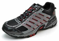 Columbia NORTHBEND OT Waterproof Hiking Trail Shoes Gray Black Men's 9 - NEW
