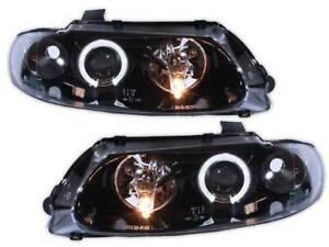 ANGEL EYE Black Altezza Headlights suits Holden VT Commodore HSV GTS Calais Berl