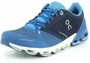 On Running Shoes Cloudflyer Blue White