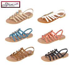Women's Ankle Straps No Pattern Sandals & Beach Shoes