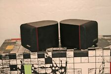 Bose Red Line Single Cube Speakers