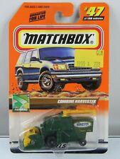 Matchbox Vintage 1999 #47 Combine Harvester Green Model 379a Farming New Package