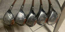 PING G10 Hybrid Set- 18*,21*,24*,28*,& 32* Regular Graphite Nice 5 Piece Set!