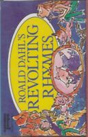 Roald Dahl Revolting Rhymes Cassette Audio Book Snow White Cinderella Goldilocks