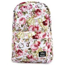 Disney Beauty and the Beast Backpack Loungefly 2018 NEW RELEASE Belle Floral NWT