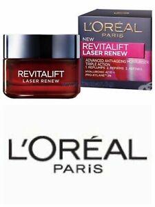 L'OREAL REVITALIFT LASER RENEW Day Cream Advanced Anti-Ageing 15ML