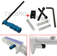 Ruger 1022 10-22 Handle Blue Anodized Aluminum + V Block + 3PC Buffer