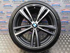 """BMW F30 F40 19"""" Roue Alliage Style 442 M Sport ferrique arrière gris diamant * 218"""