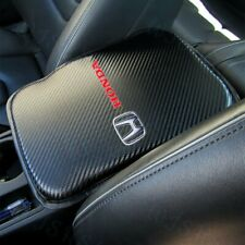 For New Honda Racing Car Center Console Armrest Cushion Mat Pad Cover Free Gift Fits 1991 Honda Civic