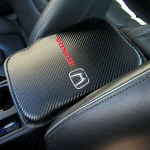 For New HONDA Racing Car Center Console Armrest Cushion Mat Pad Cover +FREE GIFT