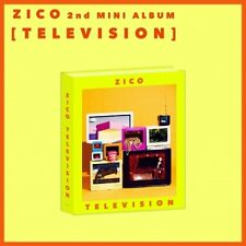 Block B Zico-[Television] 2nd Solo Mini Album CD+Poster+Booklet+Sticker+Toy+Card