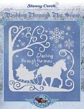 STONEY CREEK Cross Stitch Pattern Leaflet DASHING THROUGH SNOW Christmas