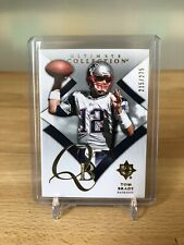 2008 Tom Brady #d 215/275 Ultimate Collection Upper Deck Card #10