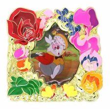2017 Disney Flower Frame Version 5 White Rabbit LE-500 Pin N9
