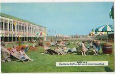 Butlins, Outside Old Time Ballroom & Indoor Heated Pool, MI.2 Postcard B859