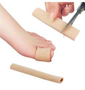 Fingerbandage Zehenschutz 15 cm Schlauchbandage Hallux Valgus Zehenpolster