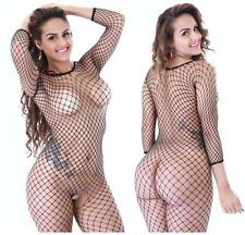 UK Lingerie Gift Bodystocking Nightwear Sexy Fishnet Full Body Net Bodysuit SEO