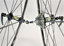 VINTAGE MAVIC KSYRIUM SSC SHIMANO 10 SPEED ROAD BICYCLE 700C WHEEL SET 130 MM