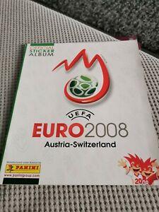 Panini Euro 2008 Empty Album - Good Condition