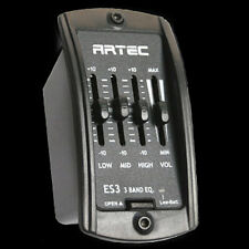 ARTEC ES3 Acoustic Guitar 3 Band Equalizer EQ Preamp w/ PP-607 Piezo Pickup