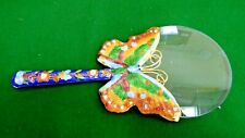 Cloisonne Butterfly Magnifying Glass