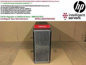 HP ML350p Gen8 2x E5-2650 64GB P420i/512MB FBWC 2x 460W 4x 600GB 6G SAS Tower