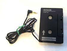 "Aiwa Cap-6 - Car Cassette to 1/8"" Audio Jack Adapter - iPod, Mp3, Smartphones"
