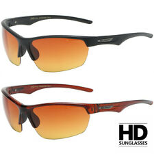 HD SPORT NIGHT DRIVING VISION SUNGLASSES WRAP AROUND HIGH DEFINITION GLASSES