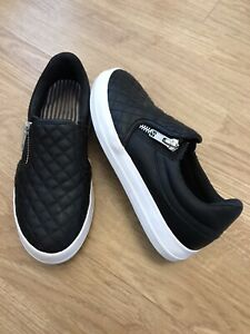 Boys Next Black Shoes Size 1